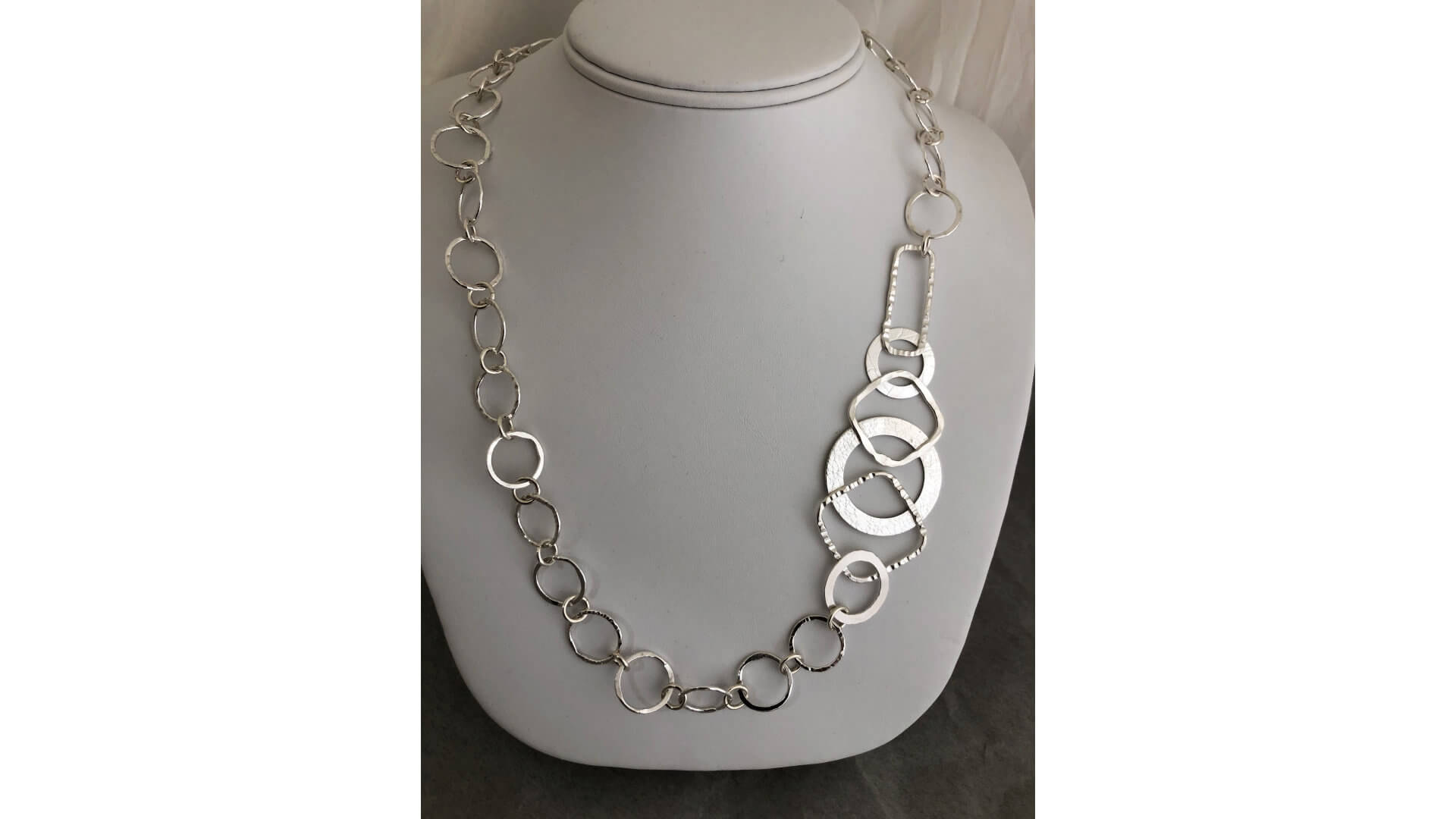 Landmark-Inspired Silver Chain by Susan Hazer Designs