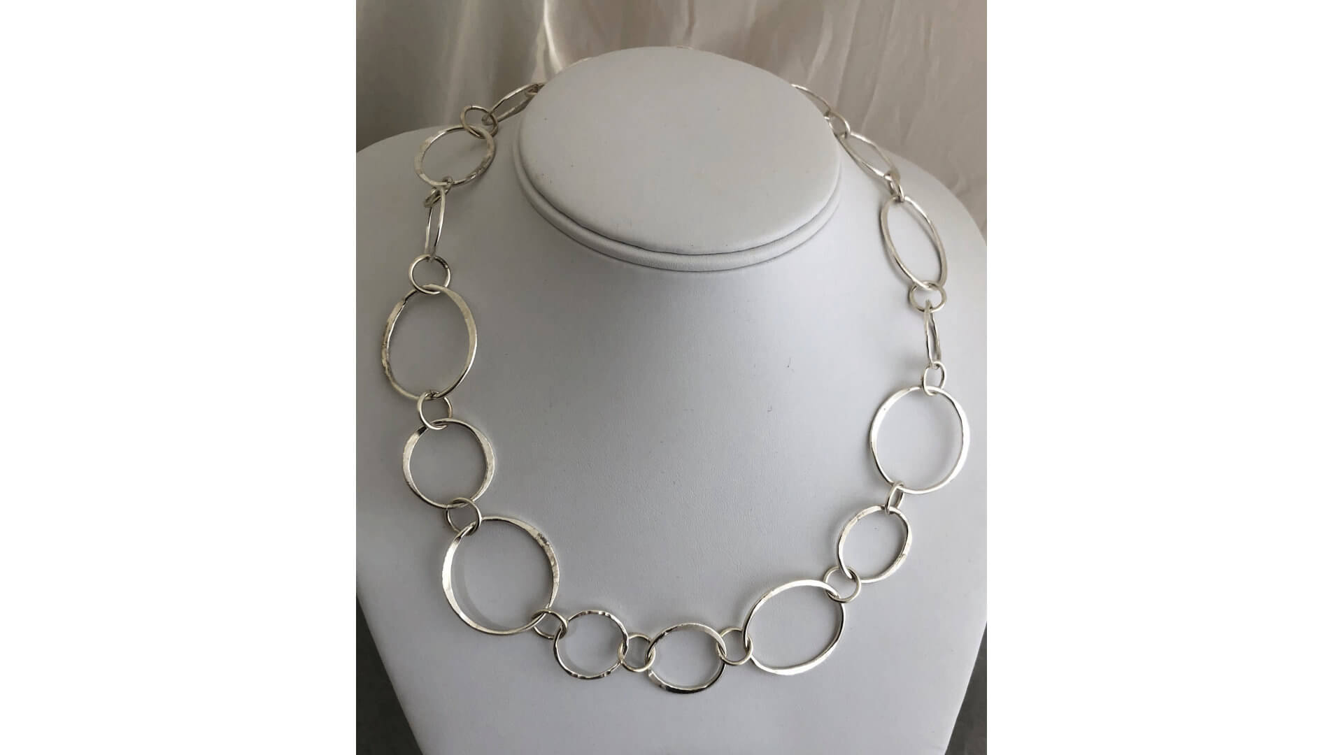 Short Circle Link Chain by Susan Hazer Designs