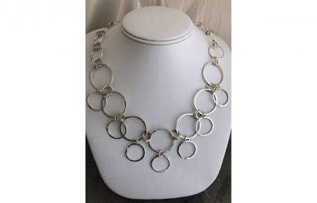 Circles and More Circles Chain by Susan Hazer Designs